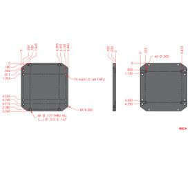 Adapter Plate VS15 to NLE