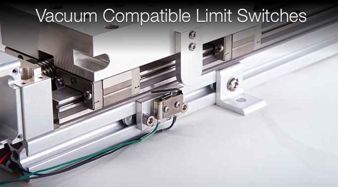 D slide linear slide vacuum compatible for 1 stage vs 2 stage vacuum motor