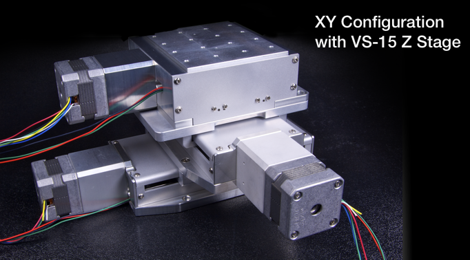 Nls4 series vacuum compatible linear stage for 1 stage vs 2 stage vacuum motor