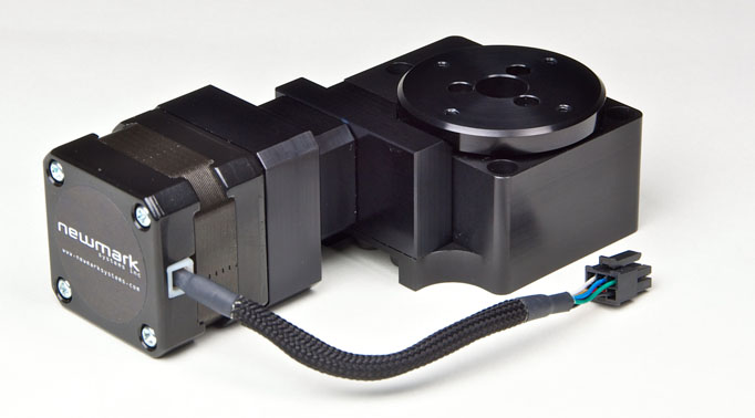 Rt 2 small motorized rotary stage rotary positioner for Nema 17 stepper motors with rotary encoders