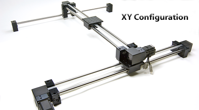Ebelt belt driven long travel linear slide for Table x and y