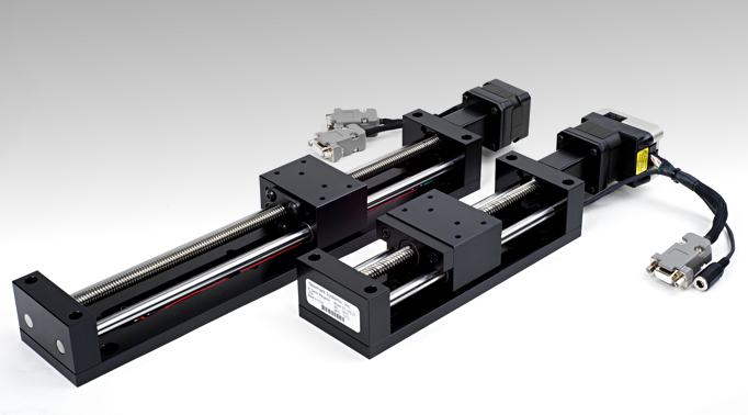Etrack low cost linear stage for Motorized linear motion slides